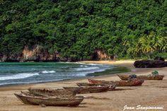 Playa El Valle, Península De Samana.
