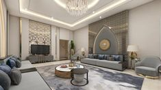 Modern Moroccan style of a Guest room   Yasin Alastal   Archinect