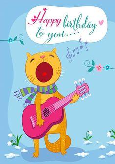 Happy Birthday Ballon, Funny Happy Birthday Song, Happy Birthday Wishes Sister, Happy Birthday Typography, Happy Birthday Best Friend, Happy Birthday Wishes Images, Happy Birthday Pictures, Happy Birthday Greetings, Funny Birthday Cards
