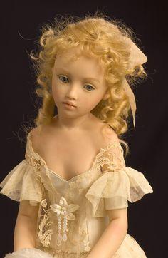 Art doll - Tatiana by Heloisie