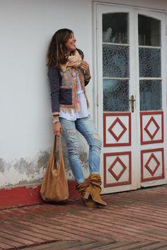 adoro las botas, si son dan el altas y de tacón ya me chiflan, un zapato de día a día, cómodo, y sobre todo conbinable, piel de ante. es que son preciosas !!!
