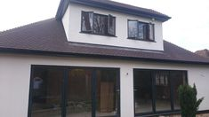 Rear Box Dormer and Ground Floor Extention to Bungalow carried out by Brentwood Lofts Dormer Loft Conversion, Loft Conversions, Loft Spaces, Lofts, Ground Floor, Bungalow, Windows, Flooring, Box