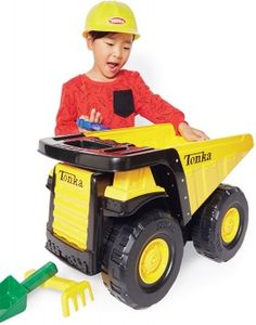 Tonka Toughest Mighty Dump with Hard Hat and Sandtools*