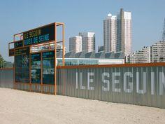 intégral Ruedi Baur Paris #Hoarding #Barricade #graphics