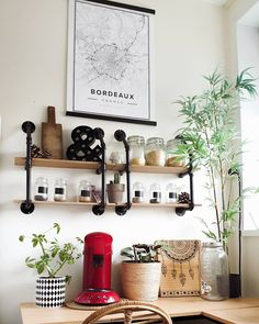 Personalize your kitchen with a custom Mapiful Street Map of your favorite place. Minimalistic cozy, scandinavian kitchen featuring a Mapiful Street Map. Perfect poster to add to your kitchen for a modern stylish interior style. Stylish Interior, Interior Styling, Bordeaux France, Scandinavian Kitchen, Apollo, Routine, Dining Room, Minimalist, Decor Ideas