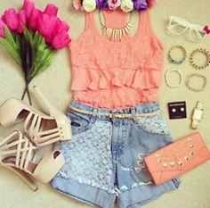 summer teen outfit