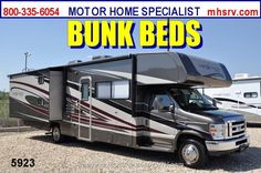 New 2013 Coachmen Leprechaun Bunk House Class C RV 32BH W/2 Slides For Sale by Motor Home Specialist available in Alvarado