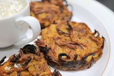 Slimming World Syn Free Baked Onion Bhajis - Tastefully Vikkie Slimming World Fakeaway, Slimming World Snacks, Slimming World Recipes Syn Free, Healthy Eating Recipes, Vegan Recipes, Cooking Recipes, Vegetarian Meals, Diet Recipes, Onion Bhaji