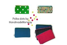 This pretty pouch is made from bright green cotton fabric featuring white polka dots, giving it a retro feel. It would make a great wallet, pencil case, small cosmetic case, and can be used for storing your keys, glasses, phone, small gadgets, treasuries and bits and bobs. It would make a lovely gift for any occasion. ♥ MATERIALS: 100% cotton, lining made from matching green floral cotton (vintage fabric from the 60s) and and interfacing for strength and durability. Zipper closure. ♥…