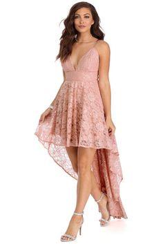Gia Mauve Lace Dress | WindsorCloud
