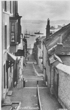 Falmouth, English Port Town  ~Repinned via Pádhraic Mulholland