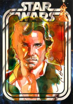 The Amazing STAR WARS Sketch Card Art of Mark McHaley - News - GeekTyrant