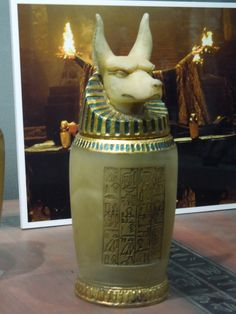 more movie props | Hollywood Movie Costumes and Props: Canopic Jar and chest props from ...