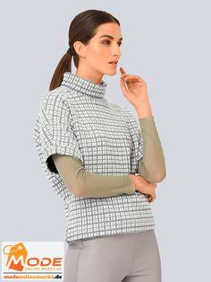 Es geht drunter drüber – mit diesem Shirt von Alba Moda das sich sowohl einzeln als auch unter einem Blazer tr... #BAUR #AlbaModa #Rabatt #24 #Marke #Alba #Moda #Farbe #pink #weiß #Material #Baumwolle #Elasthan #Polyester #Wolle #Onlineshop #BAUR #Damen #Bekleidung #Damenmode #Sale #Shirts #Sweatshirts #TShirts | sportliche Outfits, Sport Outfit | #mode #modeonlinemarkt #mode_online #girlsfashion #womensfashion Alba Moda, Sport Outfit, Mode Online, Blazer, Off White, Turtle Neck, Pullover, Sweaters, Tops