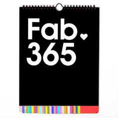 Fab Perpetual Calendar Multi, $20, now featured on Fab.