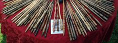 Harry Potter Magic Wand - Hand Carved Solid Wood - Random-ish Selection