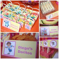 Eventageous Parties: Dora the Explorer Birthday Party