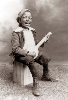 Today we feature a photograph of a young Black boy. The picture was taken in 1897.