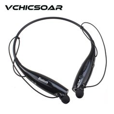 2017 Hot Fashion HV-800 Bluetooth Headphones Wireless Sports V4.0 Neckband Earphones Stereo Headset with Mic for iPhone Samsung