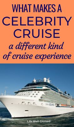 Are you thinking of a Celebrity Cruise and wondering what all the hype is about? What is different about cruising with Celebrity and who is it for? We answer all your questions so you can see what cruise line is best for your vacation. Cruise Tips, Cruise Travel, Cruise Vacation, Italy Vacation, Vacations, Cruise Ship Reviews, Best Cruise Ships, Best Cruise Lines, Cruise Excursions