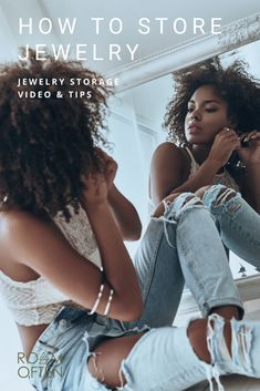 Stop wasting time rummaging through your jewelry. Learn how to store jewelry so it's easy to access when you need it, and beautiful to look at when you don't. Jewelry Stand, Jewelry Case, Going To Work, Going Out, Expensive Jewelry, Everyday Items, Jewellery Storage, Storage Solutions, Hue
