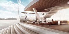 """55m sailing yacht project """"SALT"""" by Lujac Desautel"""