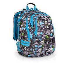 Školní batoh CHI 701 C - Grey
