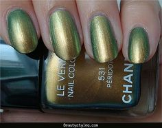 Chanel nail color peridot 531 - http://beautystyleq.com/chanel-nail-color-peridot-531.html