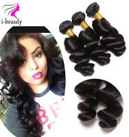 Cheap Malaysian Loose Wave 4 Bundles Loose Wave Virgin Hair100% Human Hair Weave 7A Virgin Hair Malaysian Loose Wave Virgin Hair