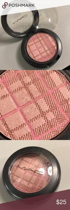 MAC A Wish Come True eyeshadow Tartan Tale LE DC New, no box. Dirty mauve with bubblegum pink Tartan striping overlay. MAC Cosmetics Makeup Eyeshadow