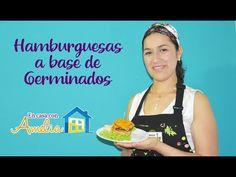 ECA 7   Hamburguesas a base de germinados   En casa con Amelia - YouTube Curry, Base, Amelia, Youtube, Burger Toppings, Lentils, Hamburgers, Cook, Vegetarian Food