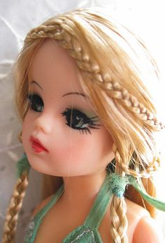 Sindy Doll, Doll Toys, Vintage Barbie, Vintage Dolls, 1970s Dolls, Tammy Doll, Scary Dolls, Doll Display, Doll Painting