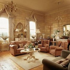 This reminds me of some chic attic. :)