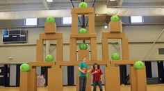 We were pretty excited to create and play a Giant Angry …