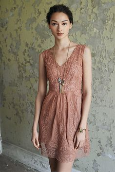 Rehearsal dinner dress for a farm wedding? At Dusk Dress #anthropologie