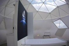Geodesic dome Interiors
