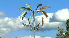Desert Palm | Lyman Whitaker | Copper Wind Sculpture | 7'6