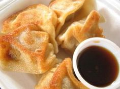 If dumplings are your favorite part of Chinese take-out, then you need to try making them yourself! Fried Pork Dumplings are delicious. The ground pork filling is wrapped up in a wonton wrapper and steamed to perfection. Working with wonton wrappers isn't too difficult, but you do need to work fast. This Chinese dumpling recipe may not be what you're used to making, but it's well worth it. Serve with your favorite Chinese main dish and enjoy!
