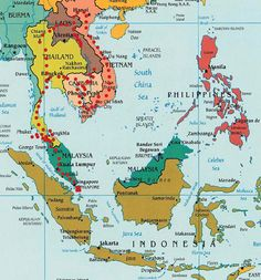 our possible backpacking trail to follow through asia