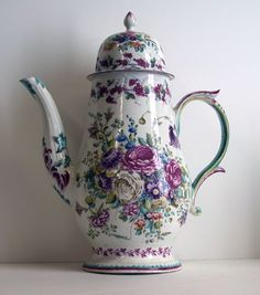 Bow Porcelain Factory English, 1744-1775 Coffee Pot, c. 1748