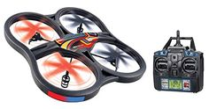 World Tech Toys 45 Channel Gyro 24GHz Panther Drone UFO RC Quadcopter >>> You can find more details by visiting the image link.Note:It is affiliate link to Amazon.