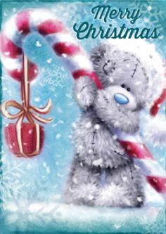 Tatty Teddy ♥ Me to You ♥ Merry Christmas. Christmas Quotes, Christmas Pictures, Christmas Art, Christmas Greetings, Christmas And New Year, Winter Christmas, All Things Christmas, Vintage Christmas, Christmas Decorations