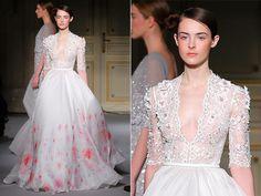 Vestidos de noiva da Alta Costura de Paris 2013 - Notícias - Noivas GNT
