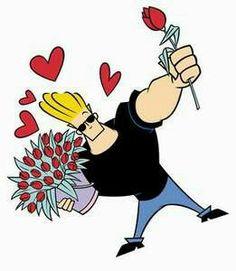 johnny bravo - one of a kind Johnny Bravo, A Good Man, Comic Art, Animation, Disney Characters, Cute, Cartoons, Kisses, Gifs