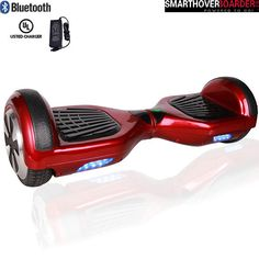 6.5 Pouces Hoverboard Rubber (rouge)