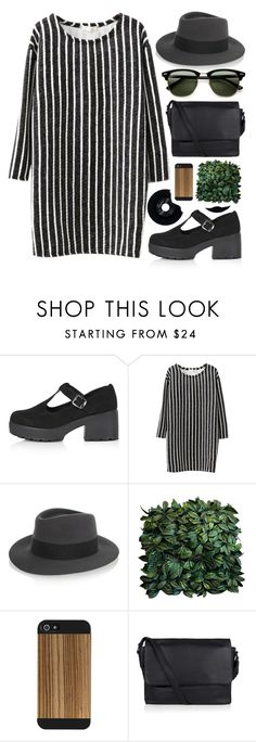"""#866"" by maartinavg ❤ liked on Polyvore featuring Topshop, Chicnova Fashion, Maison Michel, Marc by Marc Jacobs, CHESTERFIELD and Ray-Ban"