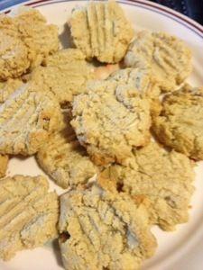 Sugar Free Flour free Almond cookies