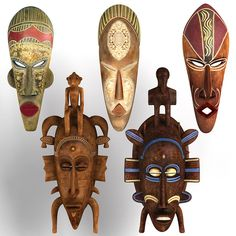 African Masks Collection 2