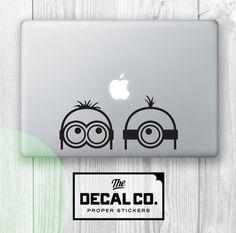 Sticker Minions pour ordinateur