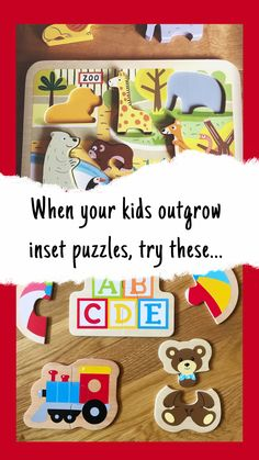 From my experience, finding the right puzzles for that in-between time can be tricky, so I've put together a list of puzzles that might save you the search. Hope you enjoy it! Puzzles For Toddlers, Games For Toddlers, Toddler Puzzles, School Age Games, Creative Activities For Kids, Popular Toys, Preschool Toys, Infant Activities, Toddler Toys